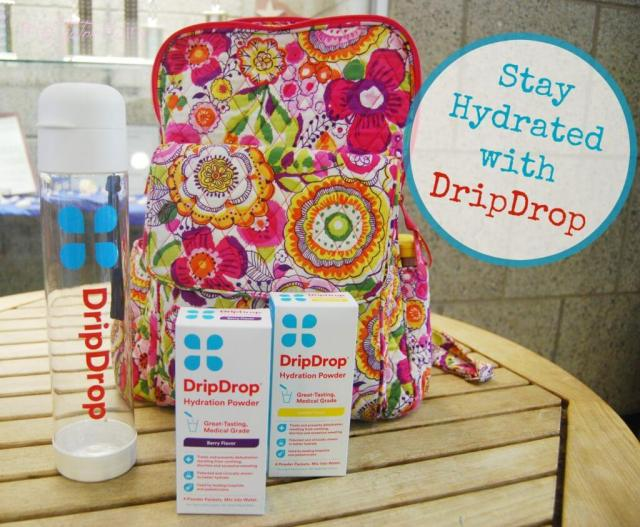 Stay Hydrated with DripDrop! Tastes great and helps with dehydration quickly for adults and kids! | The TipToe Fairy @dripdrop @shespeaksup #DrinkDripDrop #spon