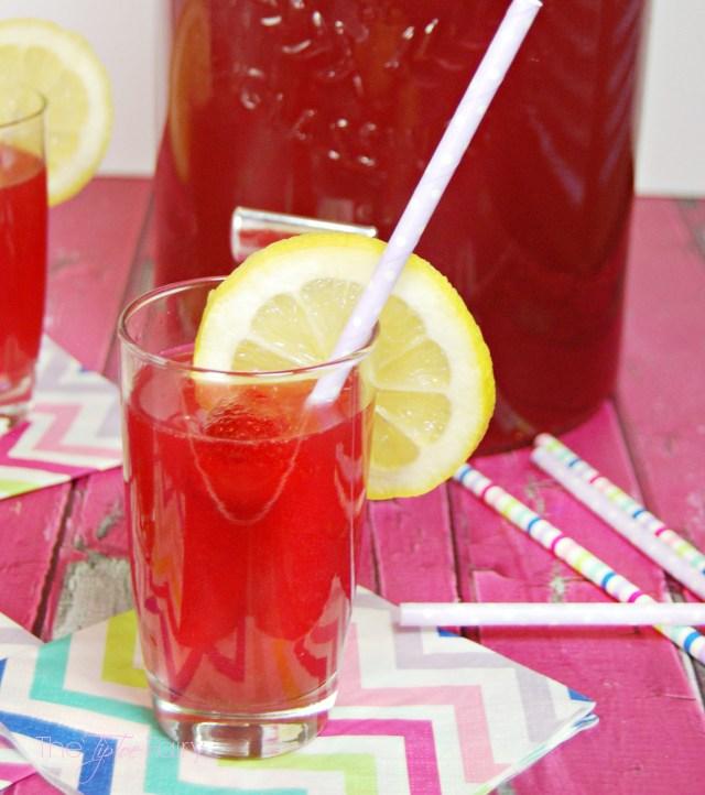 Easy Lemon Berry Party Punch - make your glassware shine with Finish!  #showmetheshine @Target #Ad