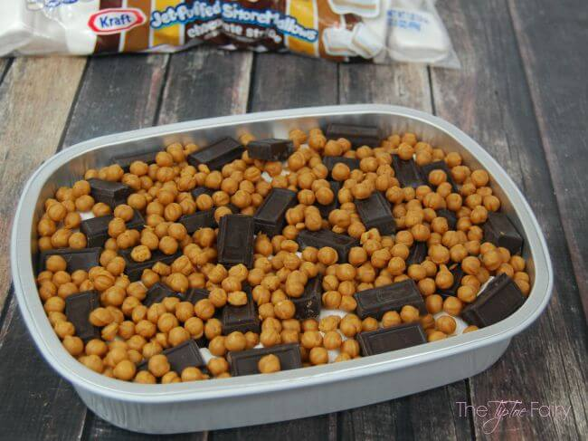 S'Mores Caramel Dip made on the Grill! @kraftfoods #ad #FireUpTheGrill | The TipToe Fairy
