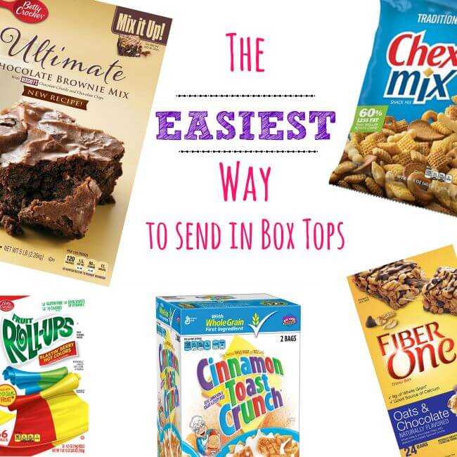 The EASIEST way to send in BoxTops! #BTFE #ad | The TipToe Fairy