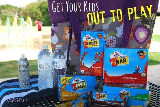 Get Your Kids #OutToPlay this summer with CLIF Kid bars! #ad | The TipToe Fairy