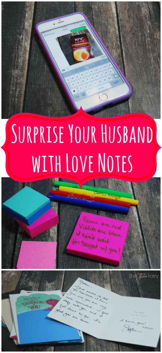 Surprise Your Husband with Love Notes