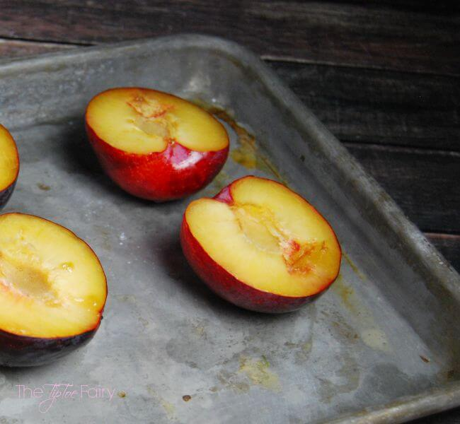 Grilled Plums - a simple and delectable dessert for summer or fall | The TipToe Fairy