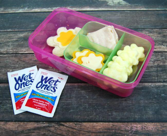 Lunch Box Ideas for Kids of All Ages #WishIHadAWetOnes #ad | The TipToe Fairy