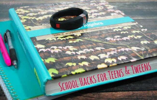 TEN Back to School Hacks for Tweens & Teens