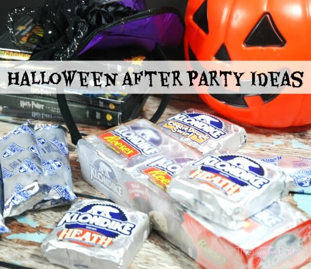 Halloween After Party Ideas - favorite scary kid friendly movies and more! #ad #KlondikeVariety #IC | The TipToe Fairy