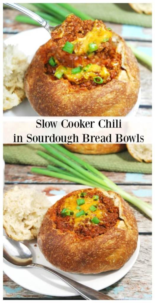 Slow Cooker Chili recipe - great for potlucks or a hearty meal for Fall or Winter nights #ad #SlowCookerMeals | The TipToe Fairy=
