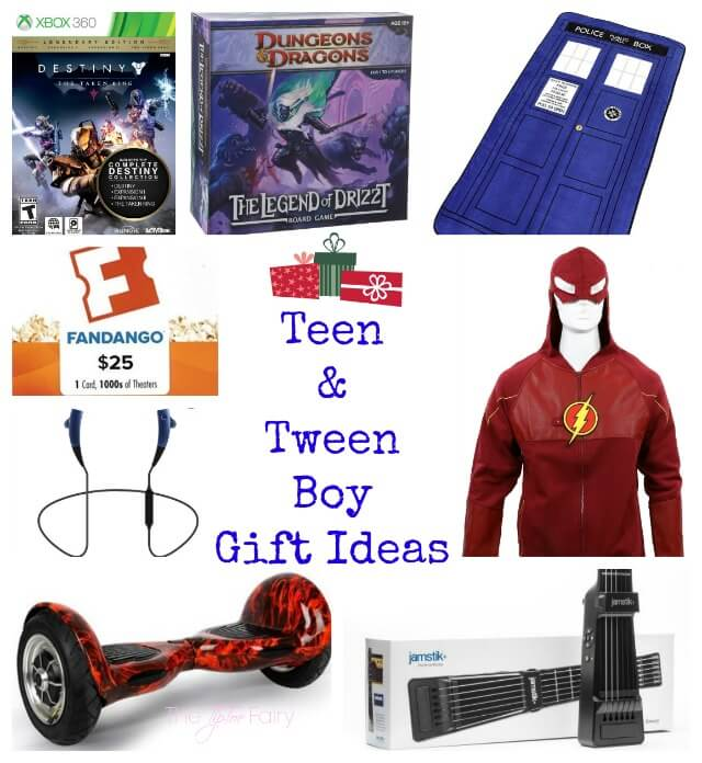 Awesome #Gift Ideas for #Tween and #Teen Boys | The TipToe Fairy