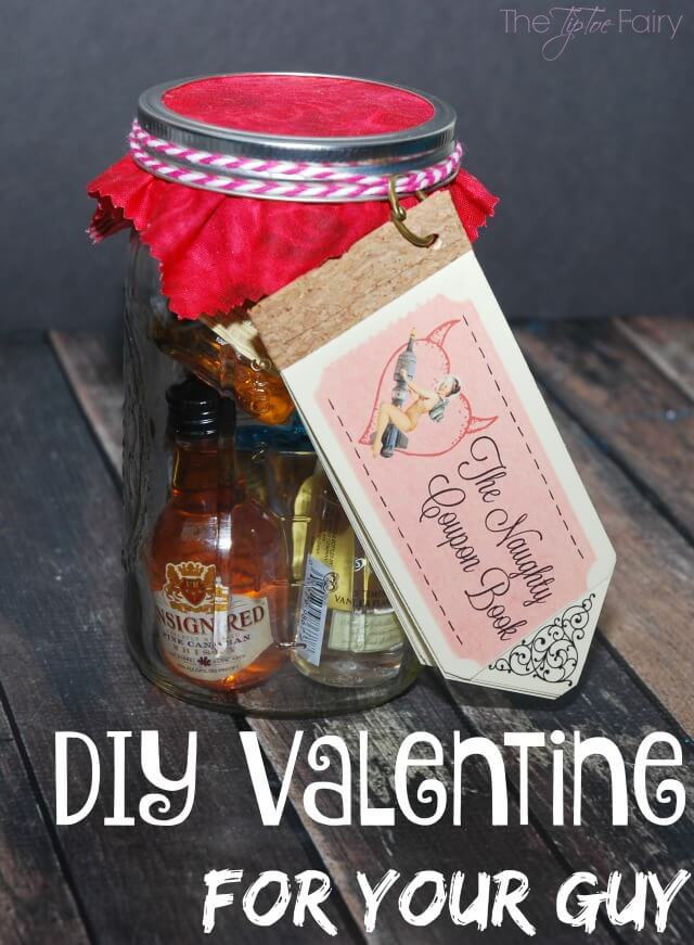 FREE Printable DIY Naughty Coupon Book for Valentine\u0027s Day The