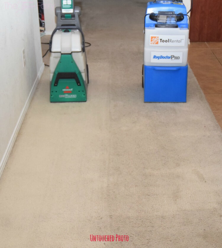 how to clean big carpet