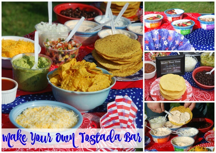 Make Your Own Tostada Bar {FREE Printables}