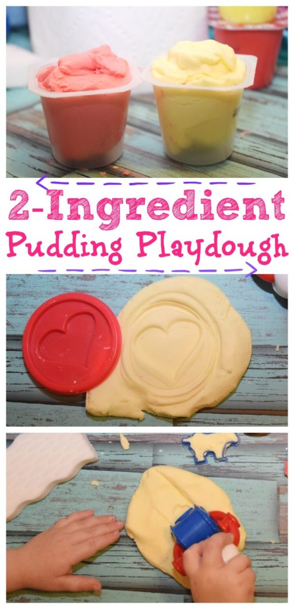 Two-Ingredient Pudding Play Dough
