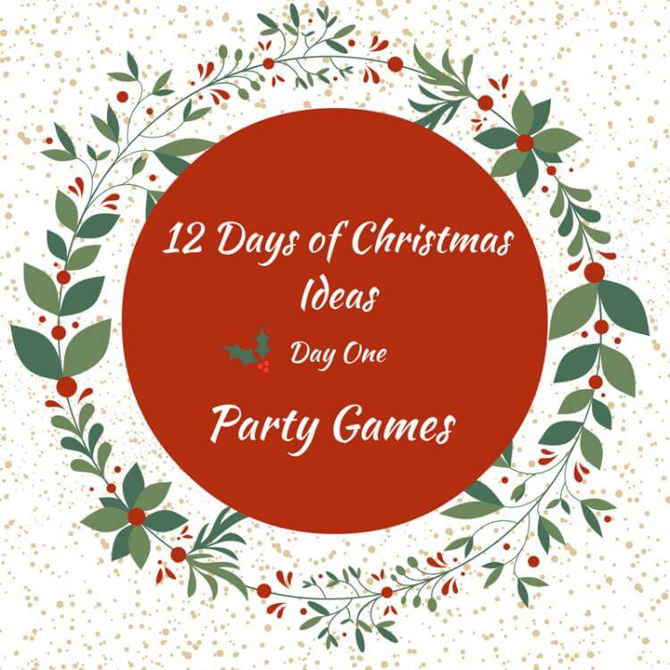 12 Days of Christmas - Day 1 12 Hilarious Christmas Party Games