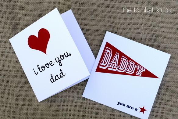 HGTV} Free Printable Father\u0027s Day Cards! The TomKat Studio Blog - father day cards