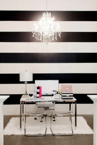 The Black and White Striped Wall | The Reveal | The ...