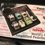 Sweetwater's Sweet Deal : A SKB Footnote Pedalboard w BUILT in SPEAKER!  unboxing / demo / review