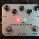 DONNER - ULTIMATE DELAY PEDAL - 11 MODES