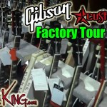 GIBSON FACTORY TOUR - Vid 2 - Custom Shop - Summer NAMM 2016
