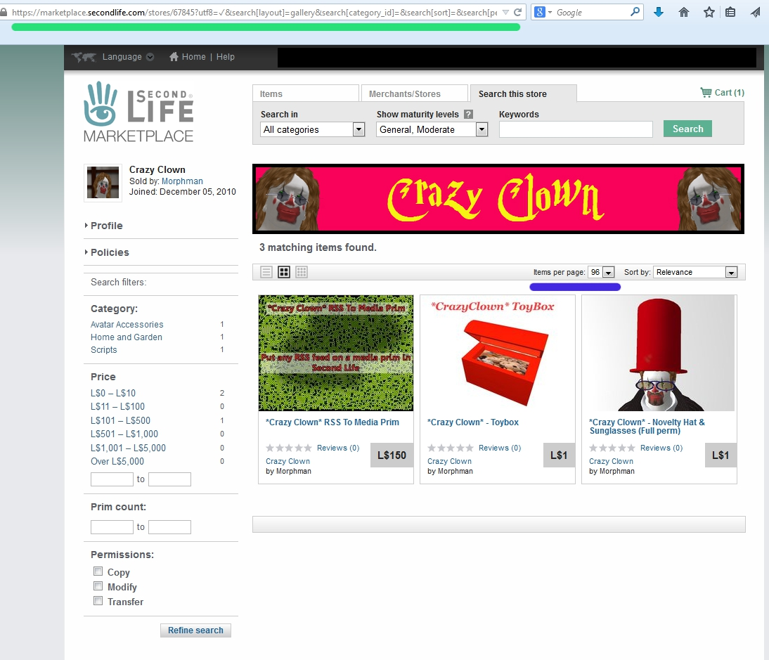 Second Life Store Second Life Marketplace Tutorial Make A Rss Feed For Your Store