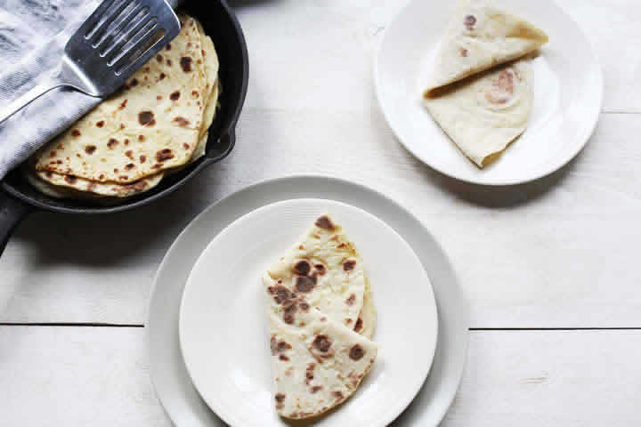 How to Make Potato Flatbread Roti