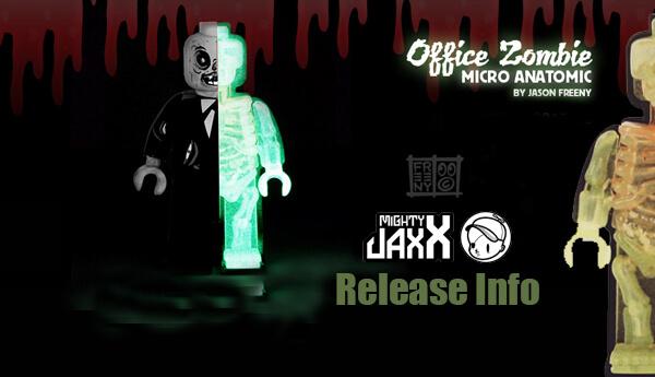 Office Zombie Micro Anatomic By Jason Freeny x Mighty Jaxx Worldwide Release Info