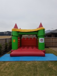 Jumping Tent & Kids Jumping Tents On Huge Slide And A
