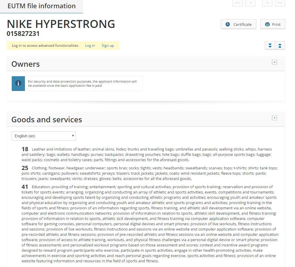 nike-hyperstrong-trademark-application