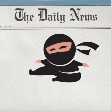 The Ninja In the Papers