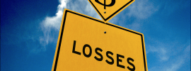 Are large losses necessary?