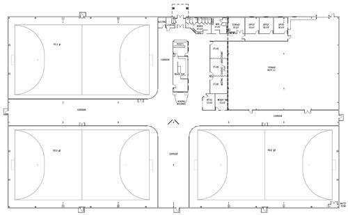 The Training Center Floorplan The Training Center
