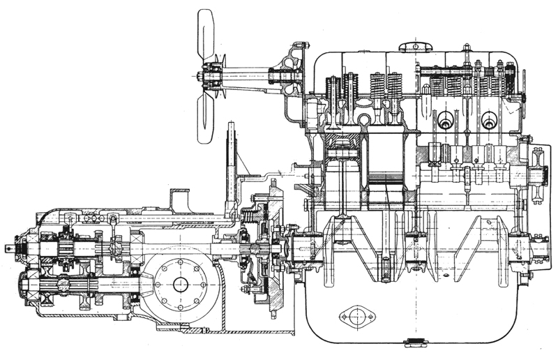 citroen traction avant engine