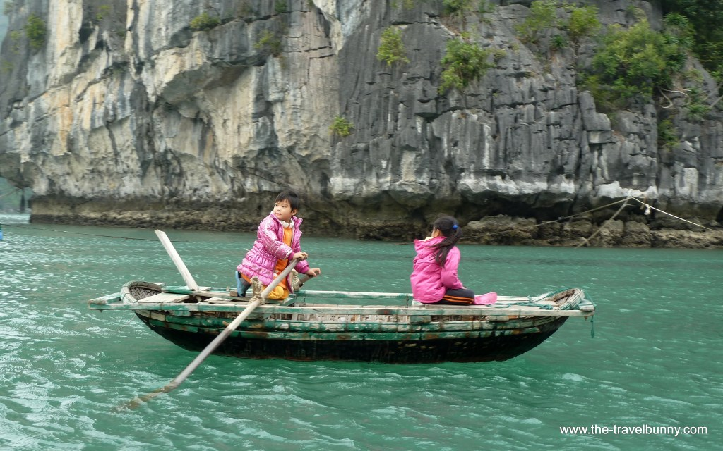 The Friday Photo   Boat Children Halong Bay