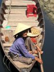 Woman in Sam Pan, Hoi An