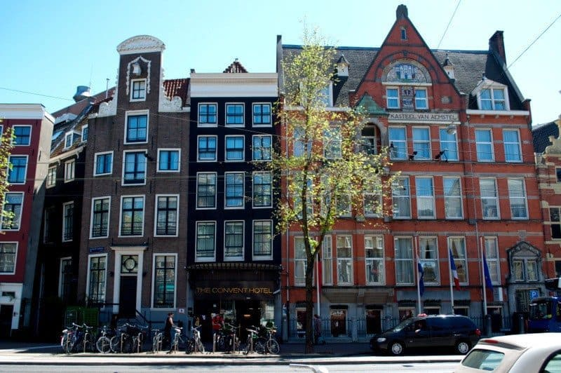 The Leaning Houses Of Amsterdam The Travelbunny