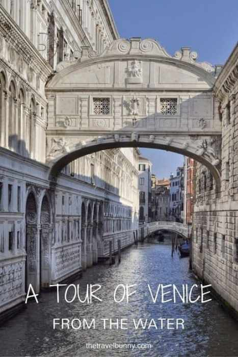 Italy - A tour of Venice from the water discovering it's highlights from the canals and waterways