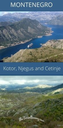A cruise excursion with Celebrity Cruises to Kotor, Njegus and Cetinje in Montenegro