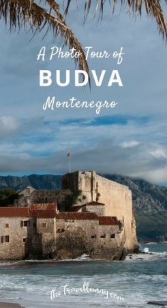 A photo tour of the pretty walled town of Budva, Montenegro
