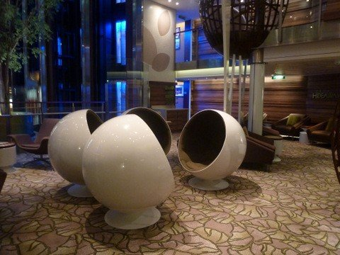 Pods on board Celebrity Silhouette