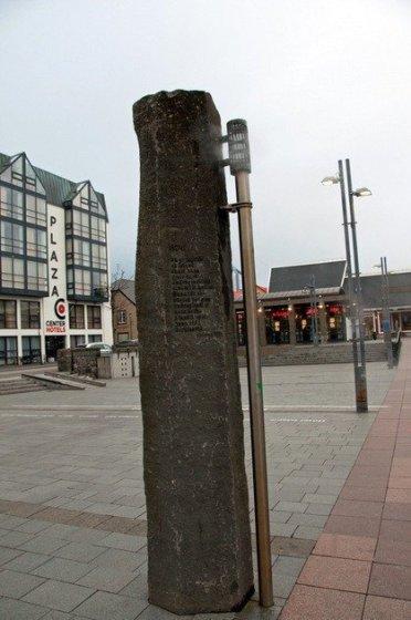 Columns in Faxaflói Square, ReykjavikReykjavik