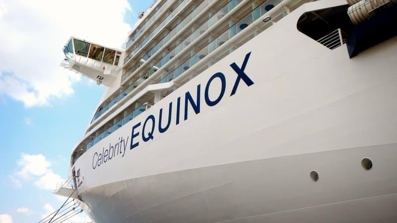 Mediterranean cruise on celebrity equinox location