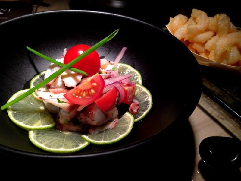 how to cook octopus for ceviche