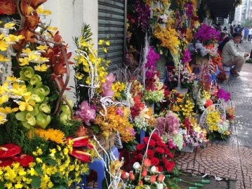 Flower Stall, Saigon