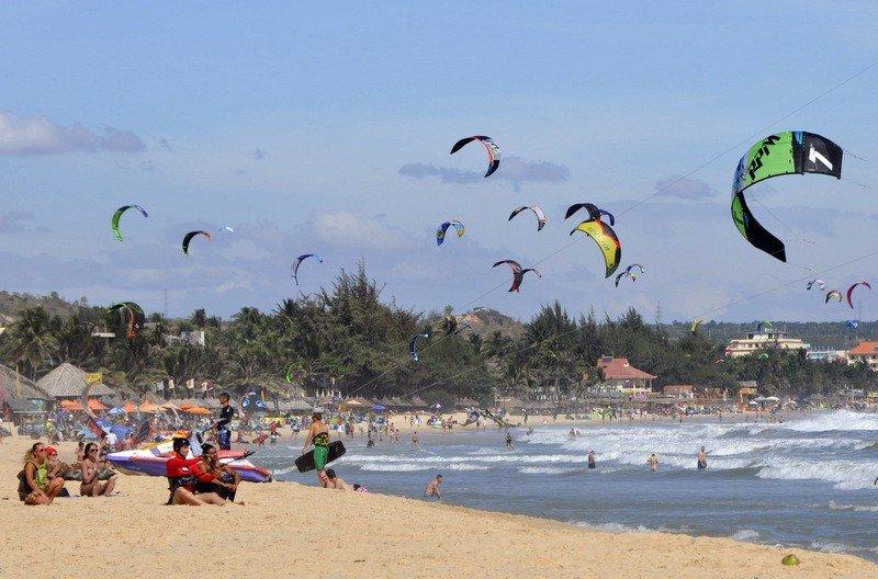 Busy Mui Ne Beach