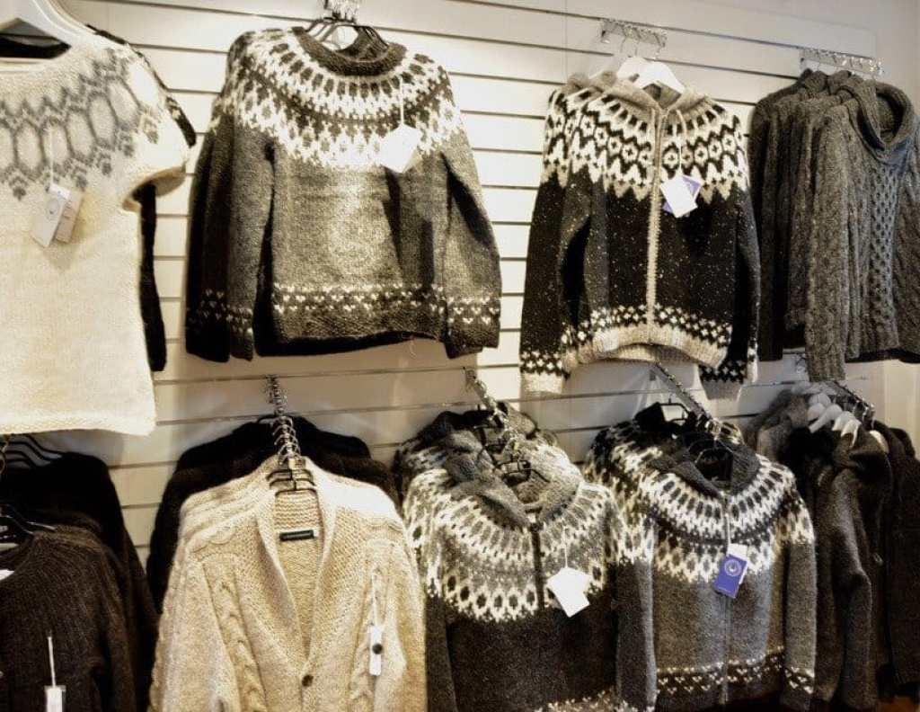 Lopapeysa Knitting, Iceland