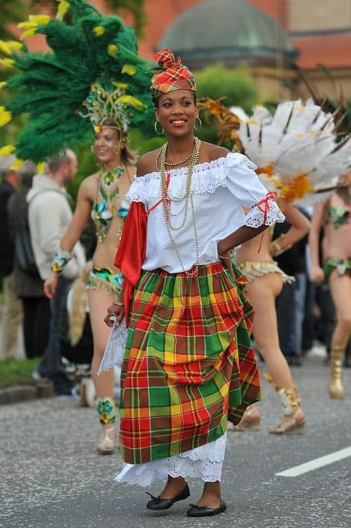Tissu Guadeloupe 5 Places You Can Celebrate Carnival Besides Brazil - The
