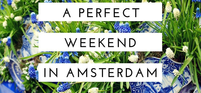A Perfect Weekend in Amsterdam - The Traveling Storygirl