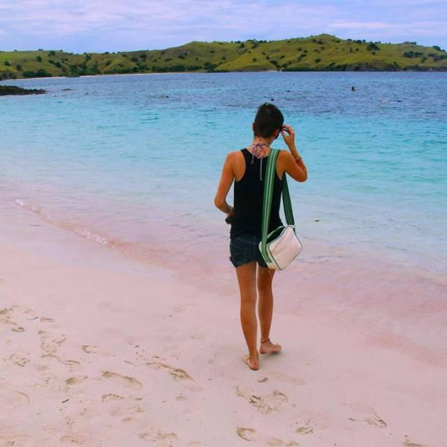 Pantai Merah  pink beach heaven!