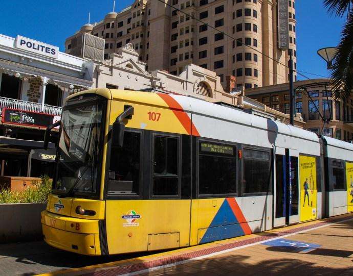 Glenelg Tram, Adelaide - The Traveloguer