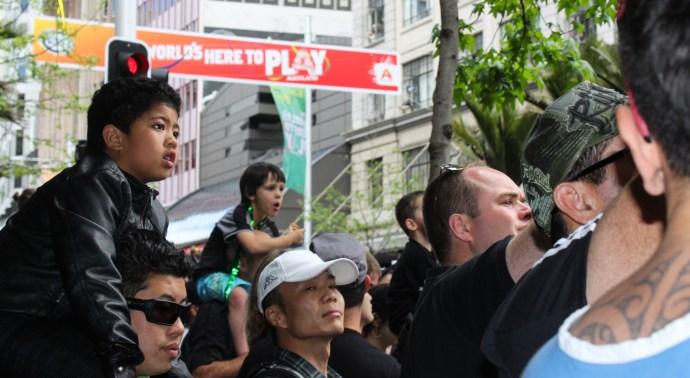 New Zealand Victory Parade 2011,