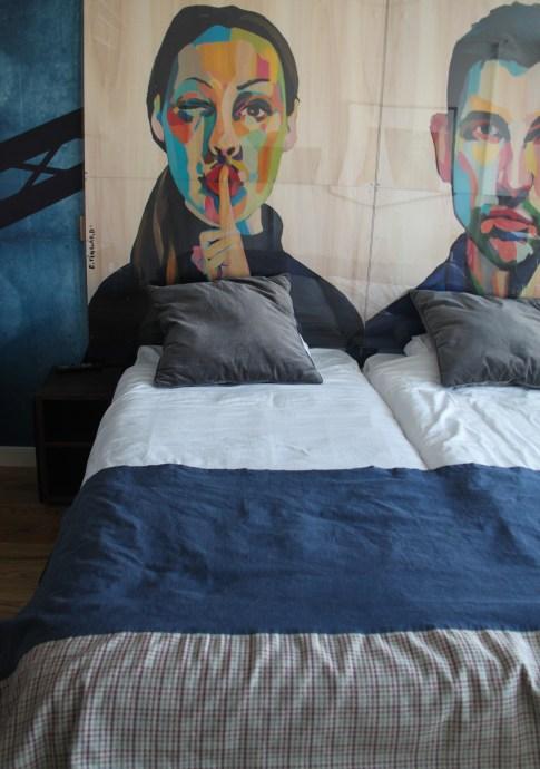 Nice bed at the Scandic Vulkan, Oslo